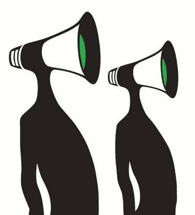 megafon-mennesker