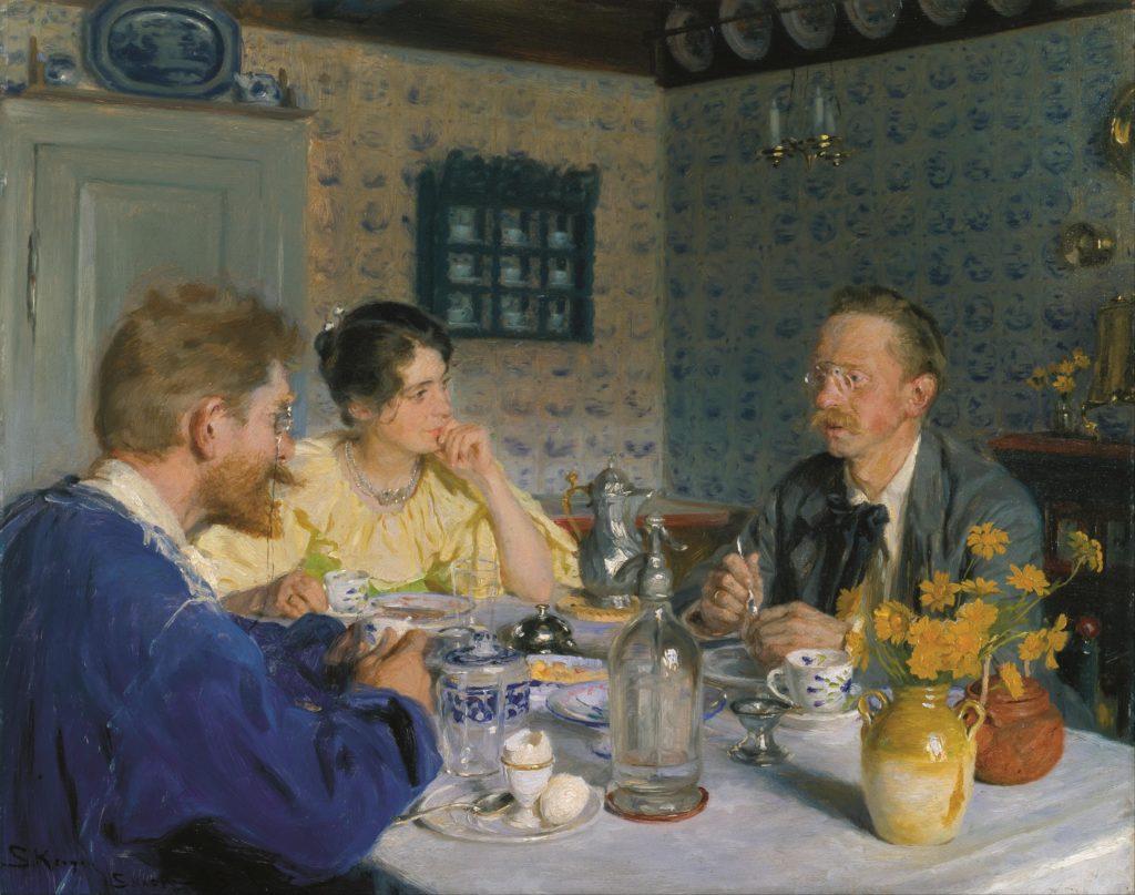 Diskursanalyse: PS Krøyer, Ved frokosten.