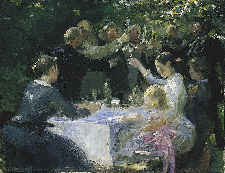 PS Krøyer Hip Hip Hurra