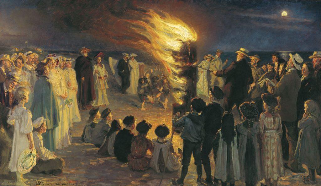 PS Krøyer: Sanktblus på Skagen