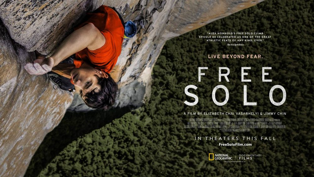 Free Solo - Reklameplakat